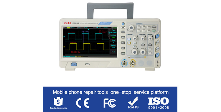 Do you know oscilloscope is also a mobile phone repair tool